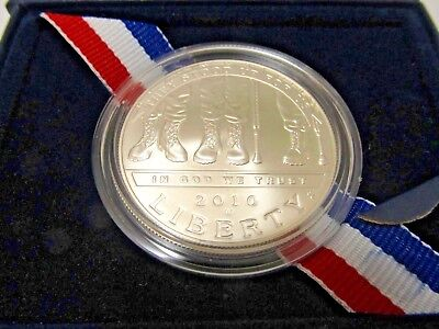 (2) 2010 American Veterans Disabled for Life Commemorative Silver Dollars #C269