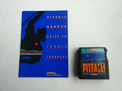 Atari 400/800/XL/XE Pitfall Cartridge by Activision w/ Manual Tested & Working