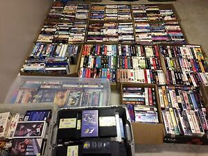 500+ VHS Tapes!