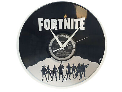Orologio disco vinil clock orologio da parete Giochi 208 Fortnite Dipinto