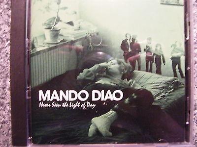 CD Mando Diao / Never seen the Light of Day – Album