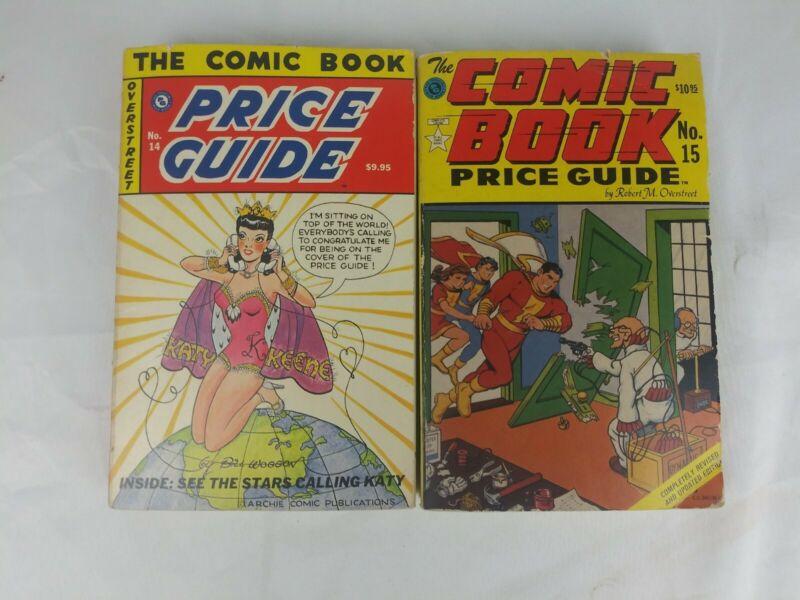 The Comic Book Price Guide No. 14 + 15.