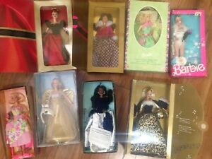 Vintage Special Edition Barbie Dolls New In Boxes, $15 Each