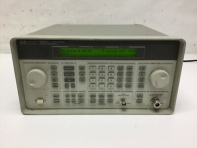 Hp Agilent 8648c Synthesized Rf Signal Generator 9 Khz-3000 Mhz Tested