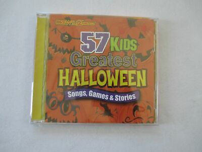 Halloween Songs Childrens (NEW - 57 Kids Greatest Halloween: Songs Games & Stories by The Hit)
