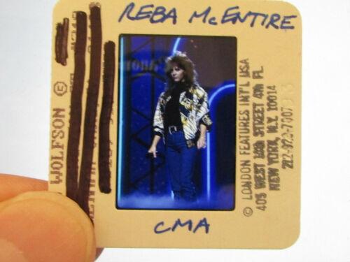Original Press Promo Slide Negative - Reba McEntire - 1990