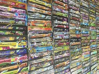 Pokemon Tcg 100 Card Lot   Com Unc Rare   Guaranteed Gx Ex Full Art Secret Rare