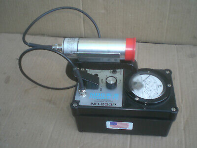 Nds Nd-200p Geiger Counter Radiation Detector Survey Meter