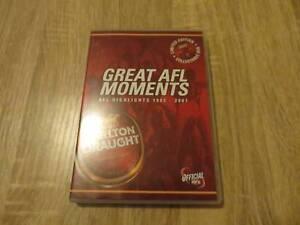 Great AFL Moments - Carlton Draught - Region 4 DVD Ringwood Maroondah Area Preview