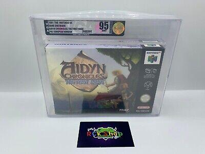 Nintendo - N64 - VGA - Aidyn Chronicles : The First Mage - NEU - 95 Gold MINT