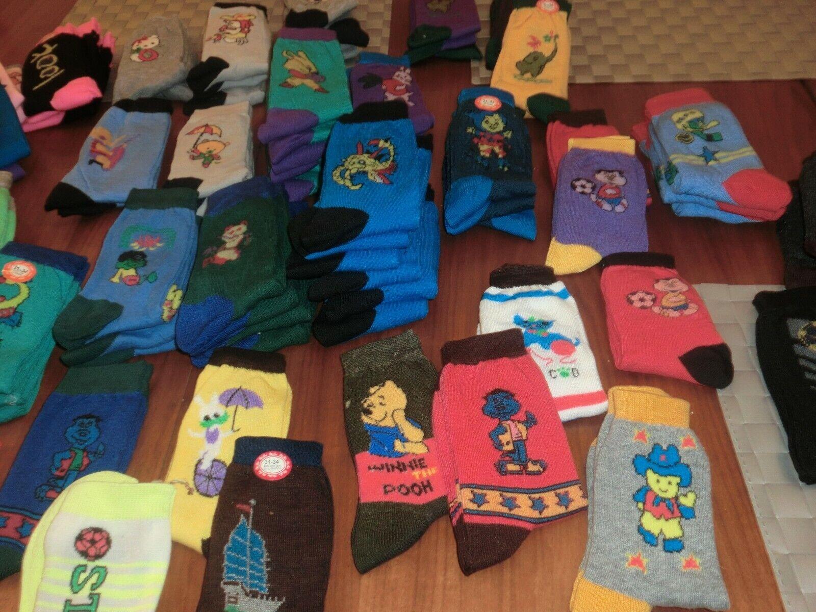 3 Paar Socken bunter Mix mit 3 verschiedenen Mustern für Jungen  Gr. 31-34