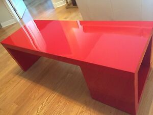 IKEA Coffee table in glossy red
