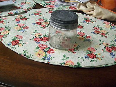 Vintage hard to find clear 1/3 Pint Ball fruit jar with vintage zinc lid