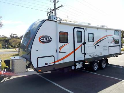 2016 CELL THE BUNKHOUSE – 24.5ft Family Bunk Caravan Cost 115k !!