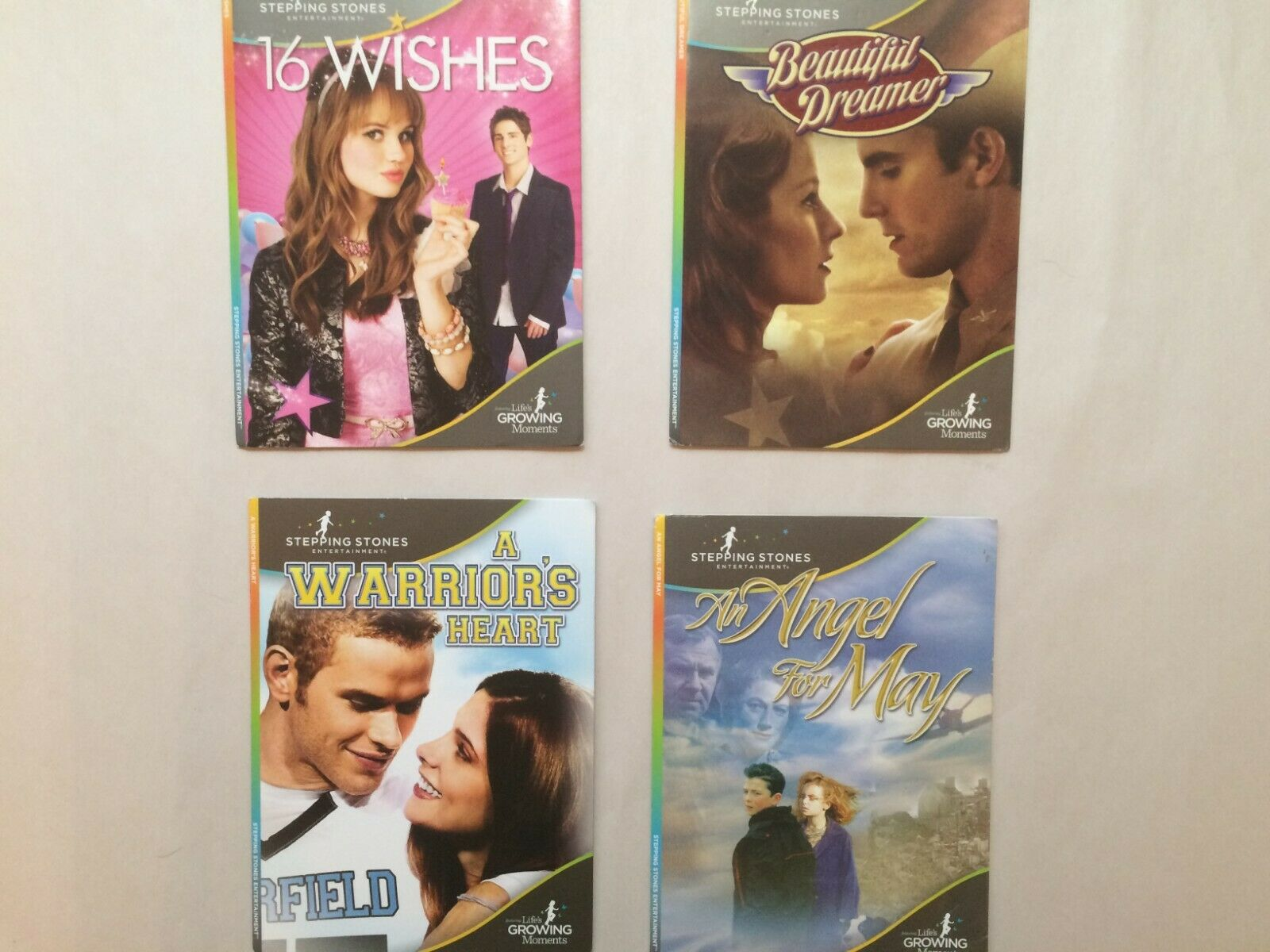 DVD Stepping Stones Entertainment lot of 4, BEAUTIFUL DREAME