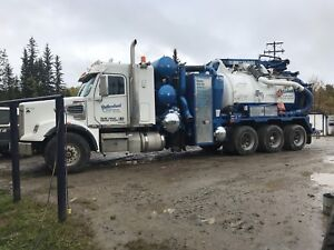 2014 freight liner Westec Hydrovac