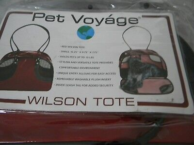 Fashionable Pet Voyage Tote Carrier Dog Cat Up to 10lbs