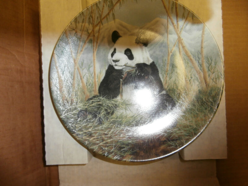 "Collector Plate: ""A Bamboo Feast"" Certificate of Authenticity"