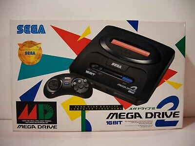 Console Sega Megadrive model 2 Asian Pal 50 Hz Thailand