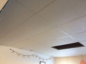 Drop down ceiling / False ceiling, 645 sq ft