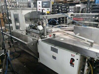 Texwrap 2202 High Speed Continous Motion Shrink Wrap Machine