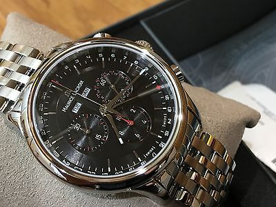 LC1228-SS002-331 Maurice Lacroix Les Classiques Swiss Chro Master Calendar Watch