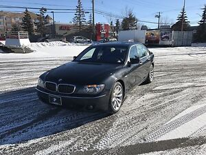 2007 BMW 750i loaded **mint condition **