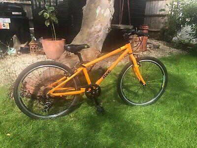 """Frog 55 Kids Childs Bike - Orange 20"""" inch wheels - VGC"""