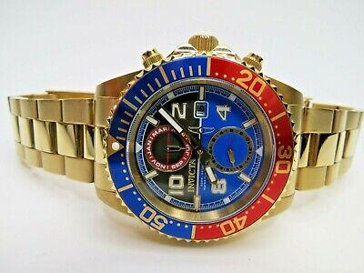 Invicta Pro Diver Quartz Multifunction Watch Gold 218519 43mm