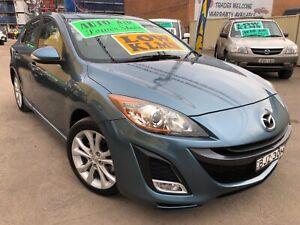 2009 Mazda3 SP25 Automatic Hatchback LOW KLMS SAT NAV LEATHER TRIM Granville Parramatta Area Preview
