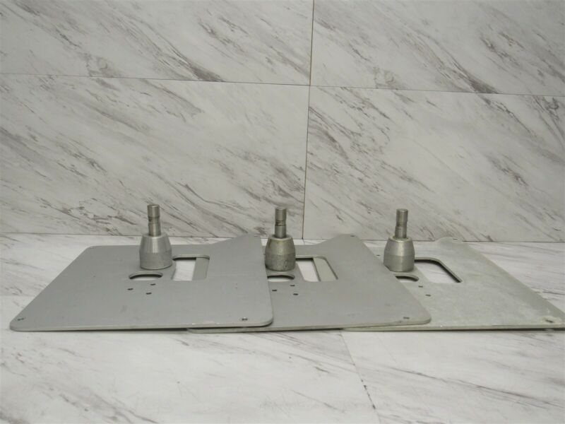 Lot of 3 Hobart Quantum Scale Pivoting POS Shelf Stand Mount