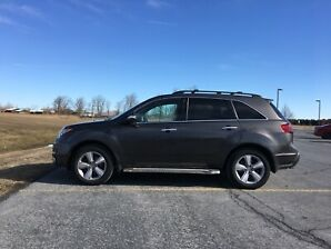 2012 Acura MDX technology package  Navi