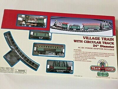 Lemax Village Express Electric Christmas Themed Train Set #84261 - Looks NEW!