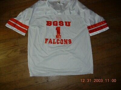Bowling Green Falcons #1 GIRLS White sz16 Jersey,PERSONALIZE LADY'S NAME for $15](Football Jersey For Girls)