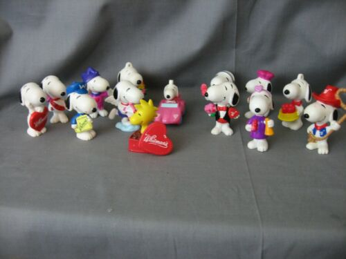 **14** VINTAGE SNOOPY/PEANUTS PVC FIGURES UFS INC. MANY POSES