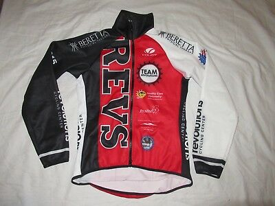 34ef70966 VOLER Womens Cycling Jersey Jacket Sz medium Raglan Long Sleeve sponsor  logos