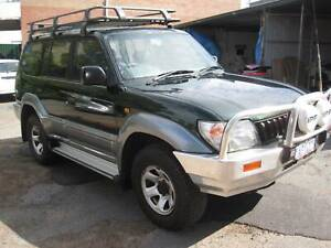 Toyota Landcruiser Prado GXL wagon Automatic PETROL and GAS Bedford Bayswater Area Preview