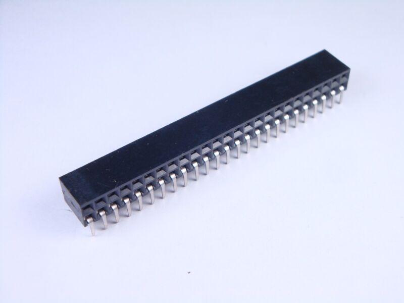 535512-7 Tyco Board to Board Connector Header 50 Pos 2.54mm MODII NOS
