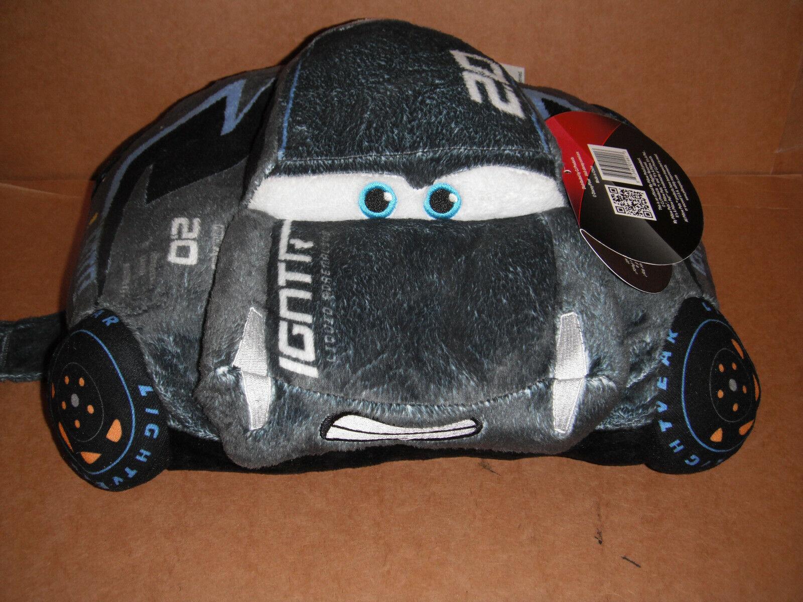 """Pillow Pets Disney Pixar Cars 3, Jackson Storm, 16"""" Stuffed"""