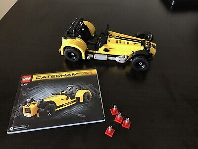 LEGO Ideas 21307 Caterham 620R Set with Directions Assembled