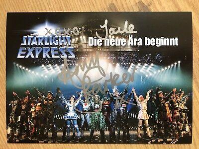 Amy Barker Joule AK Starlight Express Autogrammkarte original signiert