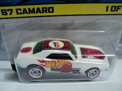 Hot Wheels 2017 10Th Mexico Convention 67 Chevy Camaro 1 1 One Of A Kind