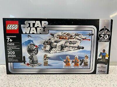 LEGO 75259 Star Wars: The Empire Strikes Back Snowspeeder Set - NEW Sealed Box