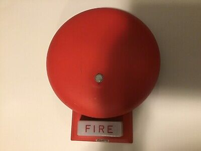 Wheelock 46t-g6-24-ws Red Bell Strobe Combo Fire Alarm Notification