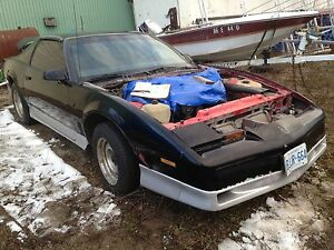 Parting out 88 transam