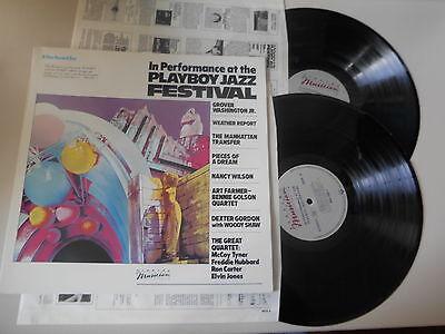 LP VA Playboy Jazz Festival / 2LP (16 Song) ELEKTRA MUSICIAN OIS