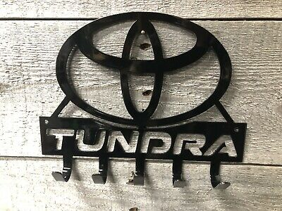 Toyota Tundra key hook/ Sign wall art-CNC cut for garage or shop
