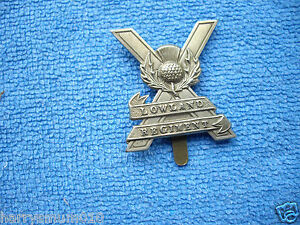 Lowland regiment  cap badge C2