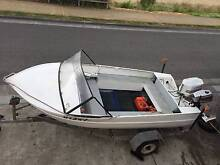 14 Foot Aluminium Runabout with Trailer Blackmans Bay Kingborough Area Preview