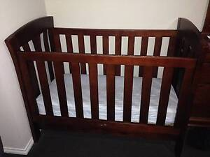 Love n care Brand Wooden Cot with Quality Mattress Kelvin Grove Brisbane North West Preview